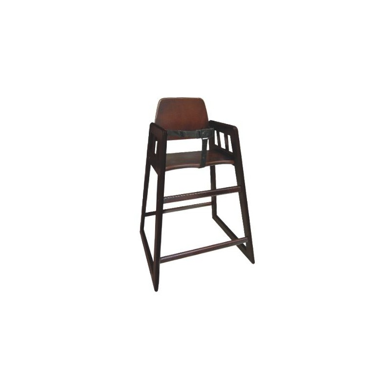 Chaise haute bois manusec for Chaise haute bois