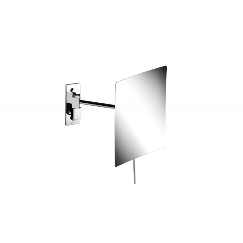 Miroir eva sur bras simple rectangle simple face manusec for Miroir double face