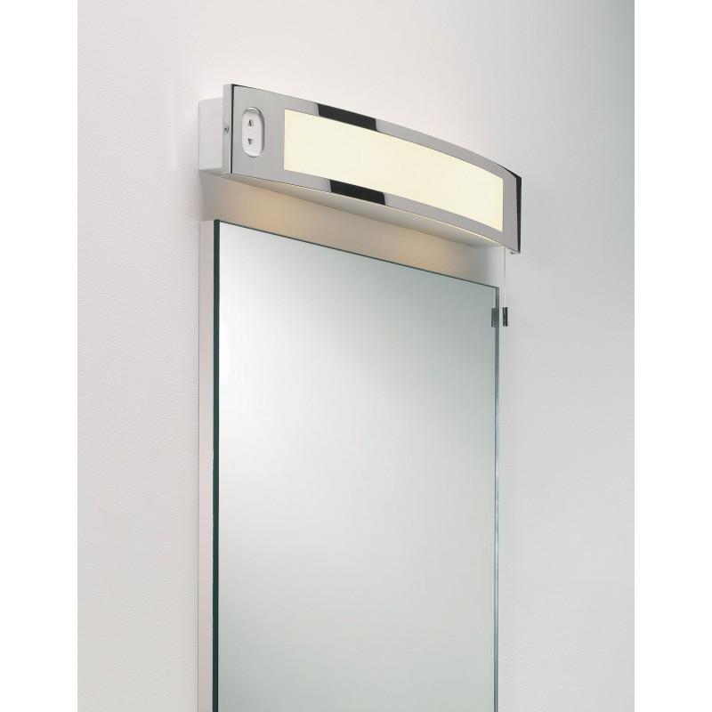 Luminaire salle de bain prise rasoir for Luminaire salle de bain ip65